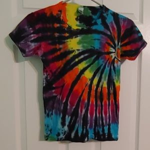 Tops - Tye dye crop top